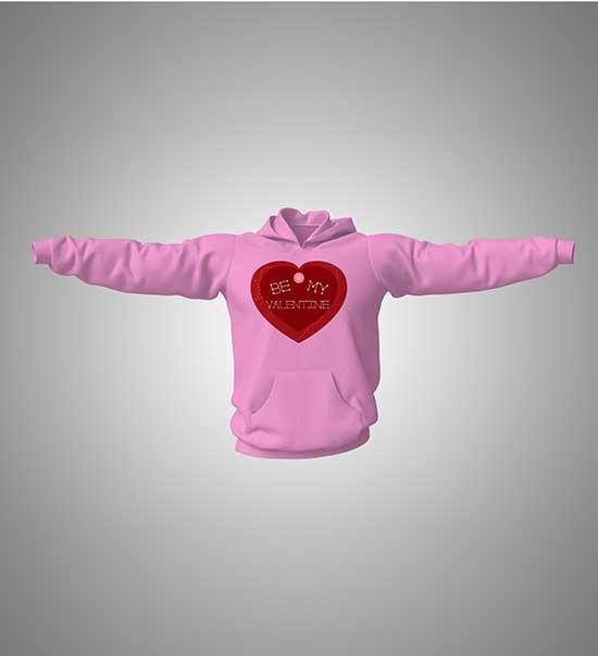 hoodie-with-print-be-my-valentine