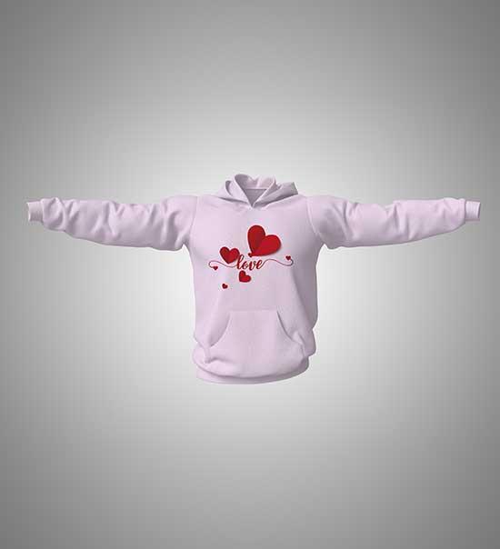 hoodie-with-print-love